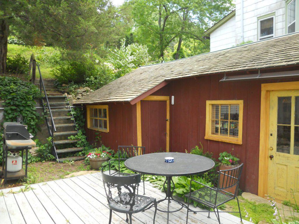 Falcon Cottage Patio