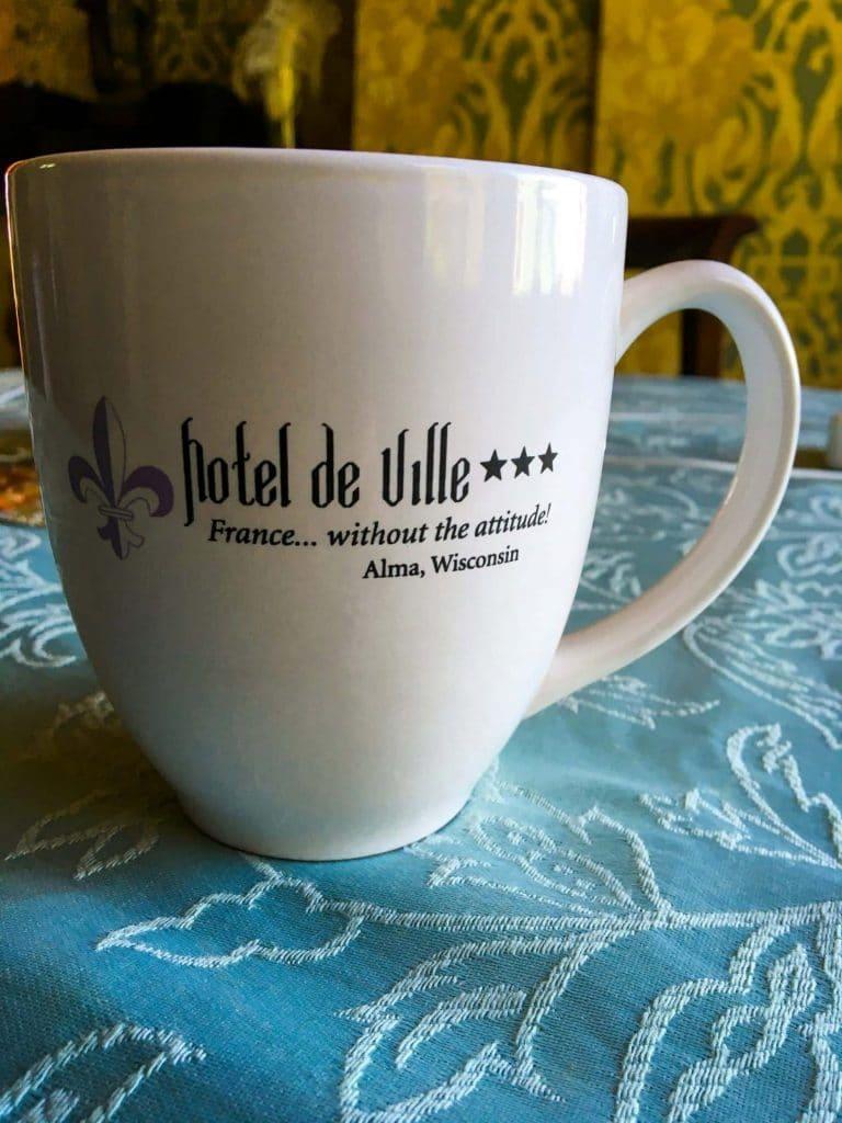 Hotel de Ville coffee mug